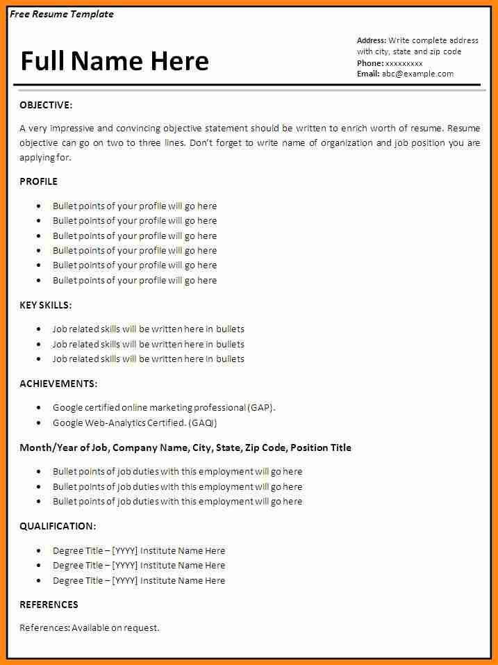 12+ simple job resume examples | model resumed