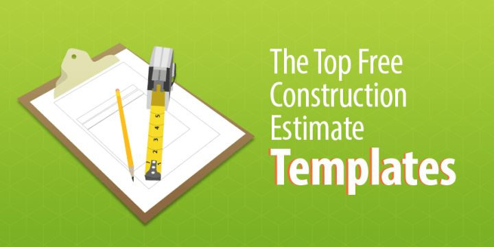 5 of the Top Free Construction Estimate Templates - Capterra Blog
