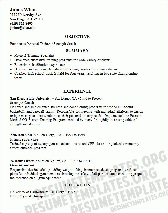 pilates instructor resume unforgettable fitness and personal