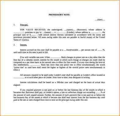 6+ simple promissory note | academic resume template