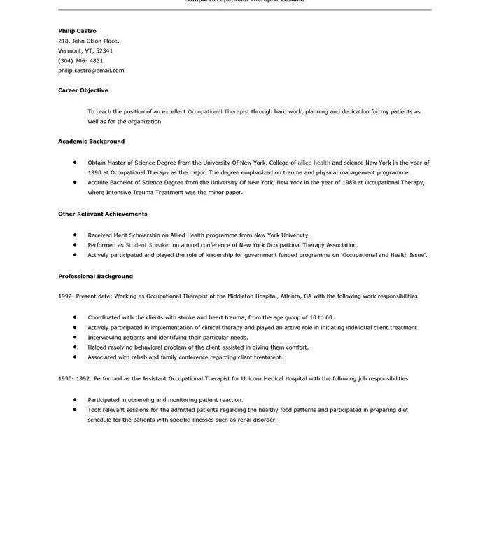 download good resume template haadyaooverbayresort com ...