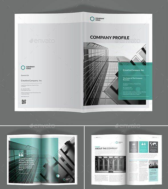 30 Awesome Company Profile Design Templates | Web & Graphic Design ...