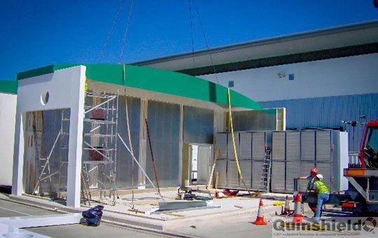 Grp Products - Security & Gatehouse Range GRP kisoks and GRP ...