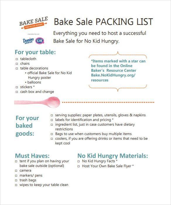 8+ Bake Sale Flyers - PSD, Vector EPS