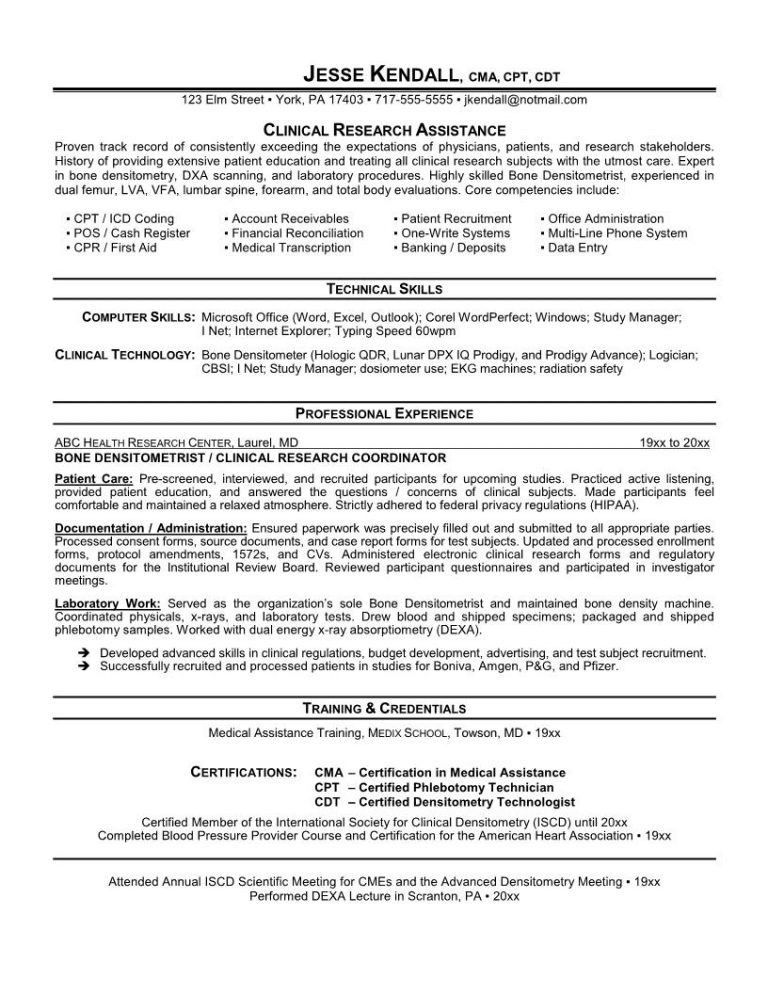 Medical Office Manager Resume Sample [Template.billybullock.us ]
