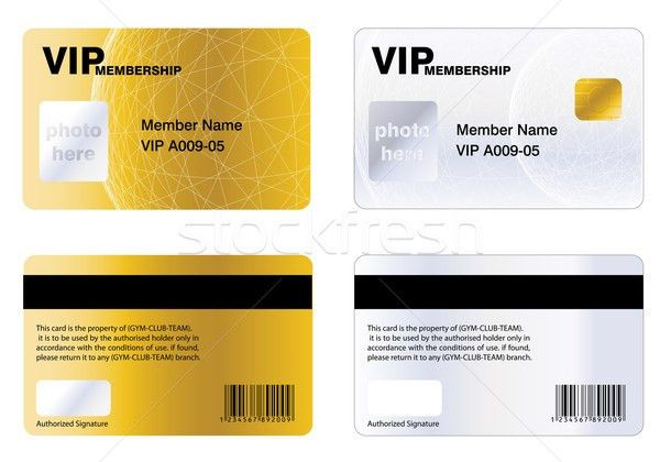 VIP MEMBERSHIP CARD vector illustration © Nabeel Zytoon (Viva ...