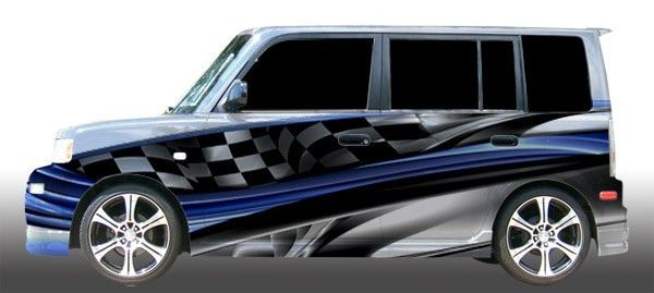 The Bad Wrap Vehicle Templates from Ordway Sign Supply