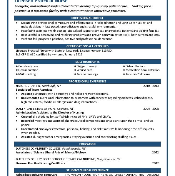 Innovation Design Lpn Resume 10 Would You Mind Looking At My ...