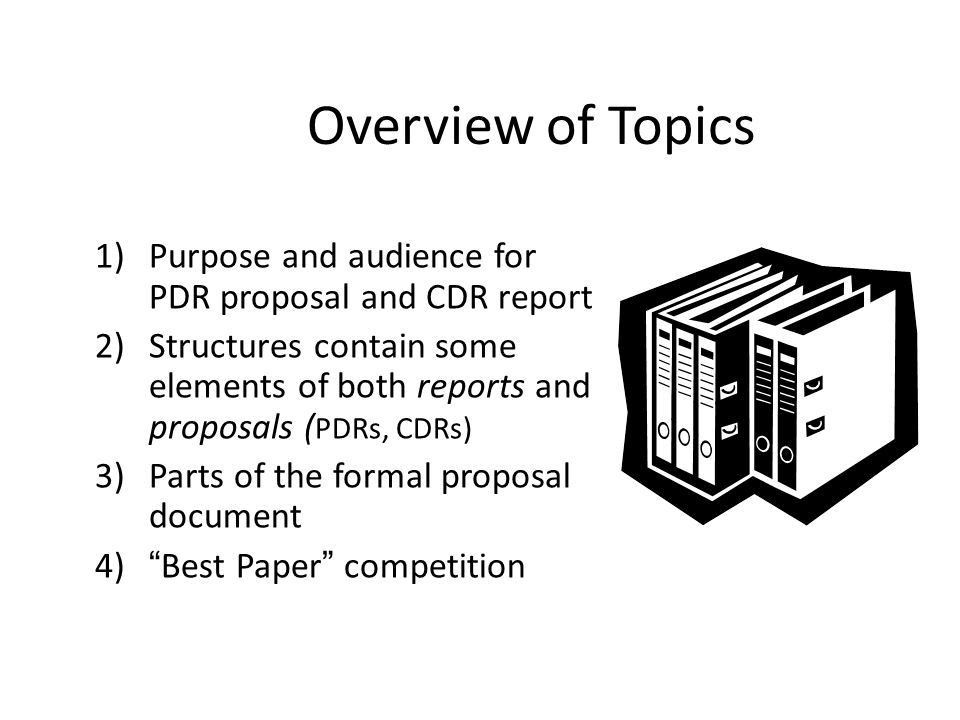 Designing Written Reports Presentation for Senior Design Classes ...