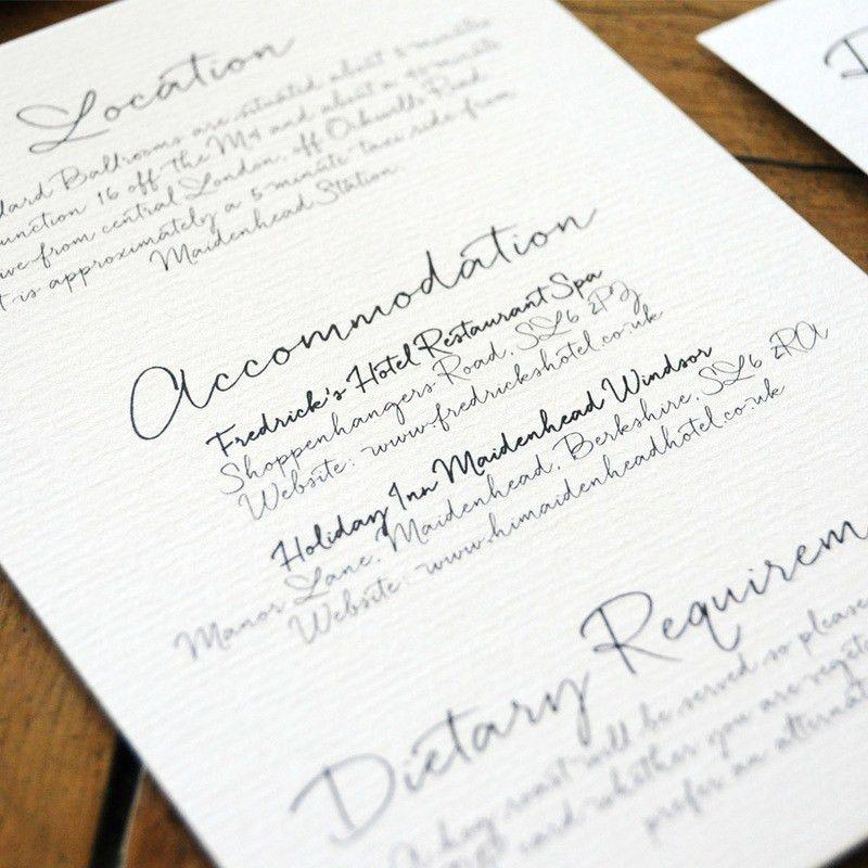 Love Letter Wedding Invitation - Feel Good Wedding Invitations
