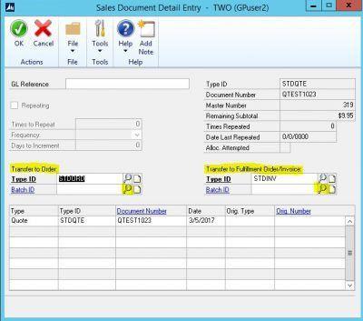 Setting Unique Batch IDs in Dynamics GP | Tridea Partners Blog