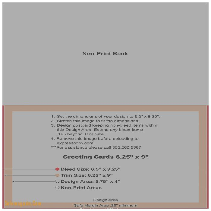 Greeting Cards. Luxury Standard Greeting Card Size Template ...