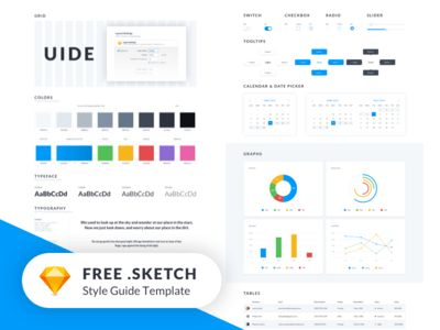 UIDE Kit (Style Guide Template) - FREEBIE 🔥 by Mateusz Dembek ...
