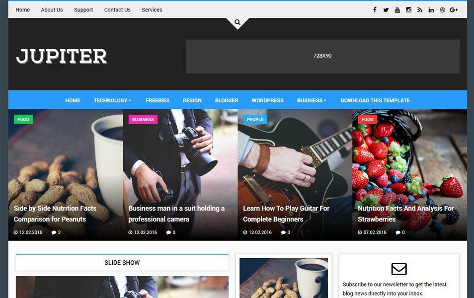 100+ Best Free Responsive Blogger Templates 2017 » CSS Author