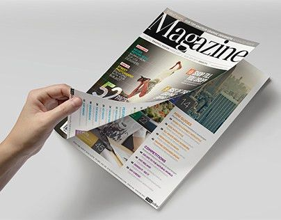 Magazine Template - InDesign 52 Page Layout V4 on Behance