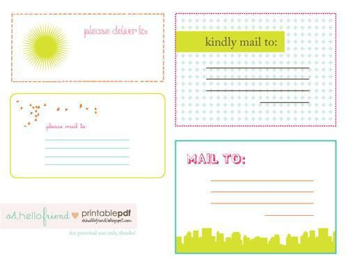Best 25+ Mailing labels ideas on Pinterest | Address labels ...