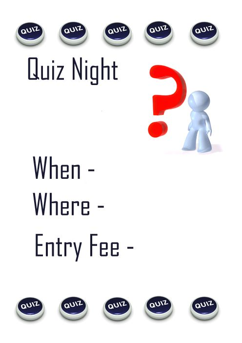 Quiz Night Ideas