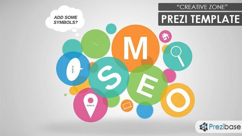 Creative Zone Prezi Template | Prezibase
