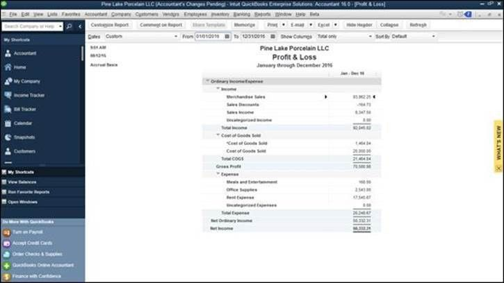 Preparing Financial Statements and Reports - Accounting Chores ...