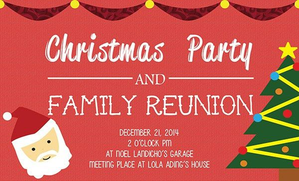 20+ Family Reunion Invitation Designs - PSD, Vector EPS, JPG Download