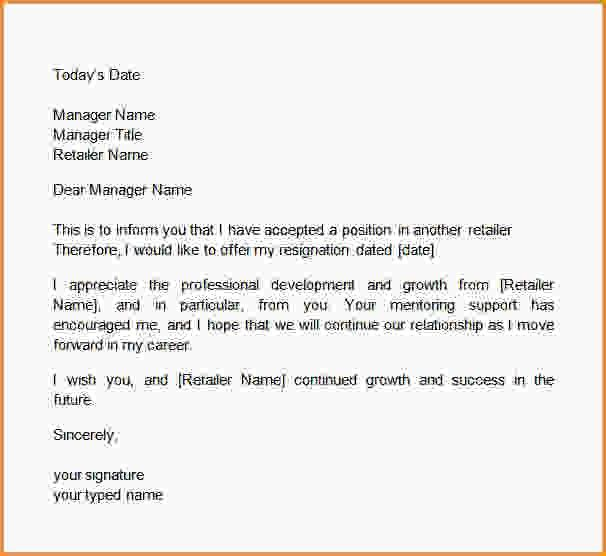 How To Write Your Two Weeks Notice.two Weeks Notice Template.jpg ...