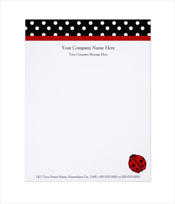 15+ Company Letterhead Templates – Free Sample, Example Format ...
