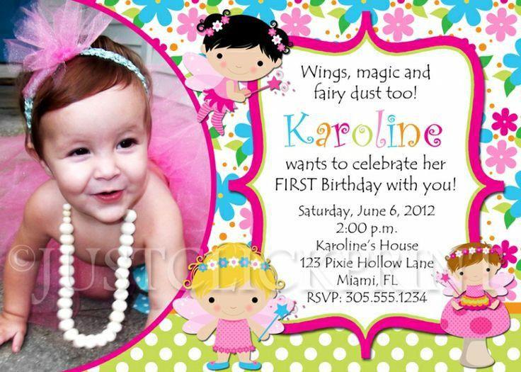 Sample Birthday Invitations First Birthday Invitation Wording And - Sample birthday invitation hello kitty