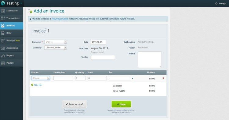 Wave Review – Free Accounting, Invoicing and Payroll for Small ...