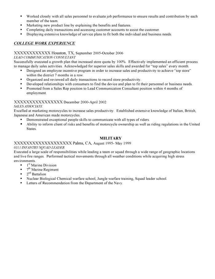 infantry resume examples resume cv cover letter