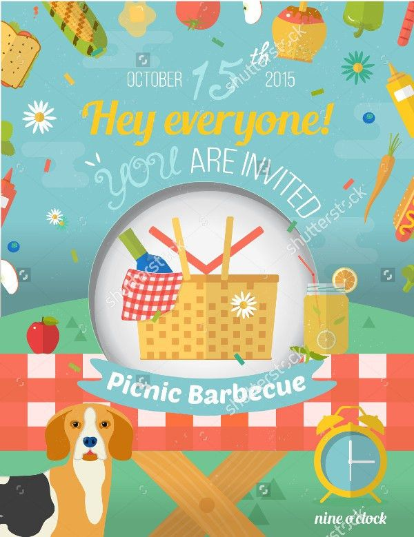 Picnic invitation Template - 18+ PSD, AI, EPS, Vector Format Download
