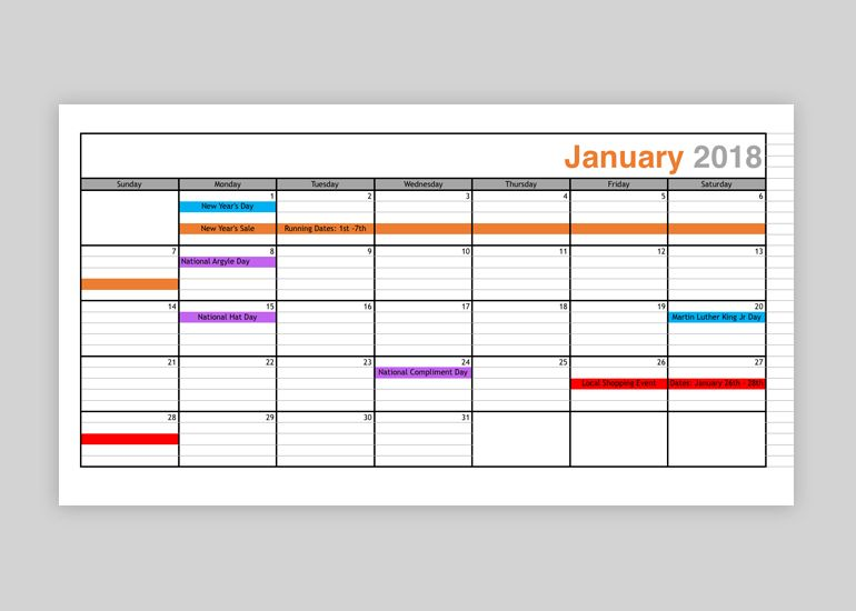 Marketing Promotional Calendar: Organize Sales Planning the Best Way