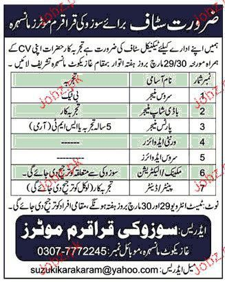 Service Manager, Body Shop Manager Job Opportunity 2017 Jobs ...