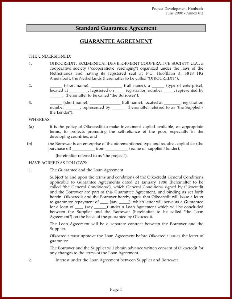 Hard Money Loan Contract Form Hard Money Loan Agreement Loan ...