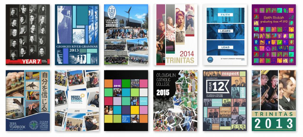 Hundreds of Yearbook Cover Examples – Academic to Artistic ...