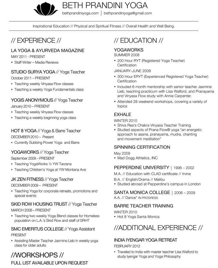 lisa day yoga resume 165 zumba instructor resume sample virtren