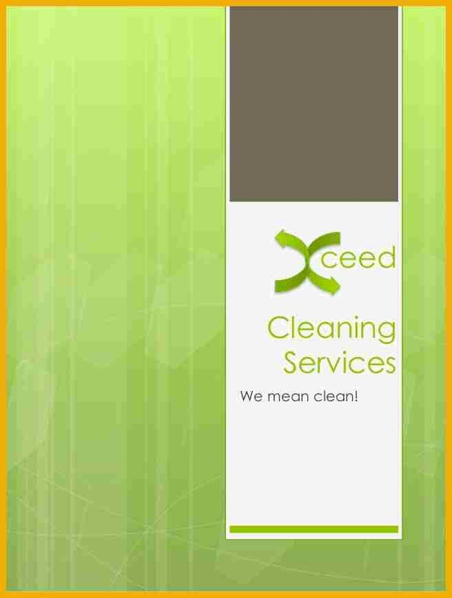9+ cleaning company profile sample   bursary cover letter