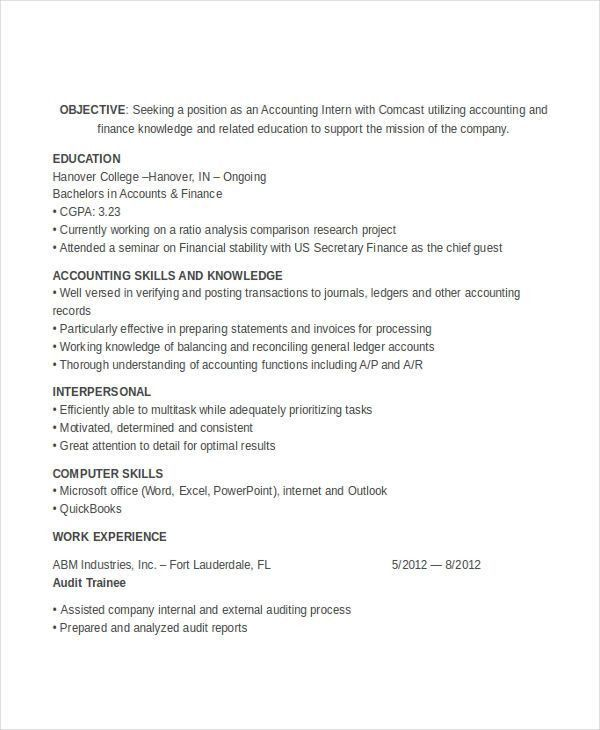 31+ Accountant Resume Designs | Free & Premium Templates