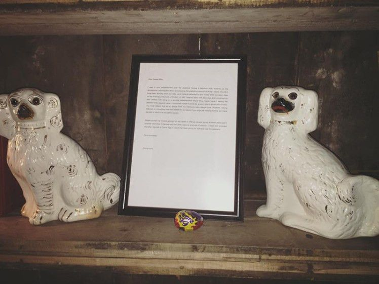Sweet Afton's stolen porcelain dog returned with apology letter ...
