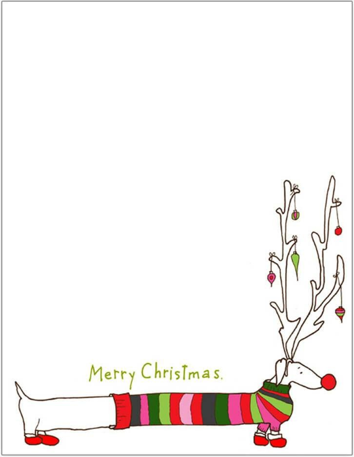 Christmas Letter Templates - Free PSD, PDF Format | Creative Template