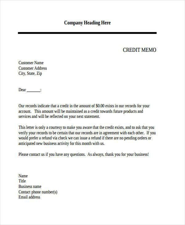 10 Internal Memo Templates - Free Sample, Example, Format Download