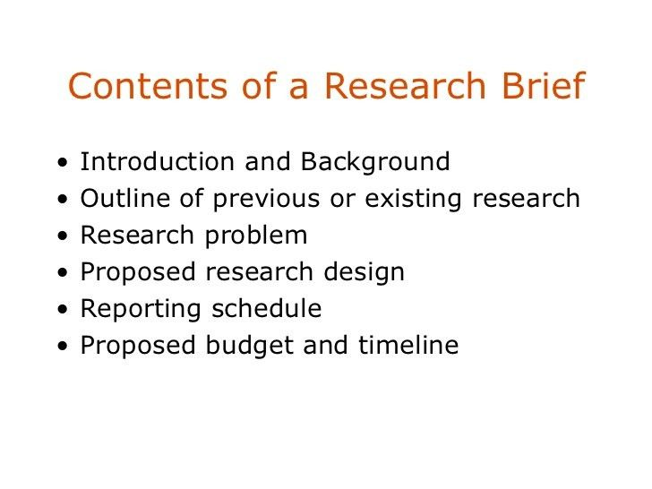 Research design & secondary data
