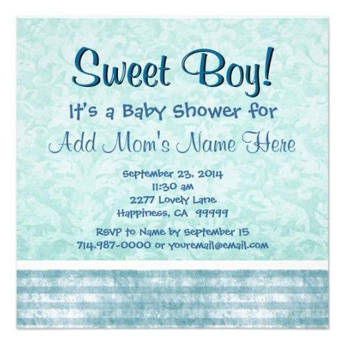 Baby Shower Invitations Wording Tips - Cool Baby Shower Ideas
