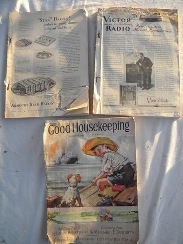 old 1920s and 30s Good Housekeeping magazines vintage graphics ...