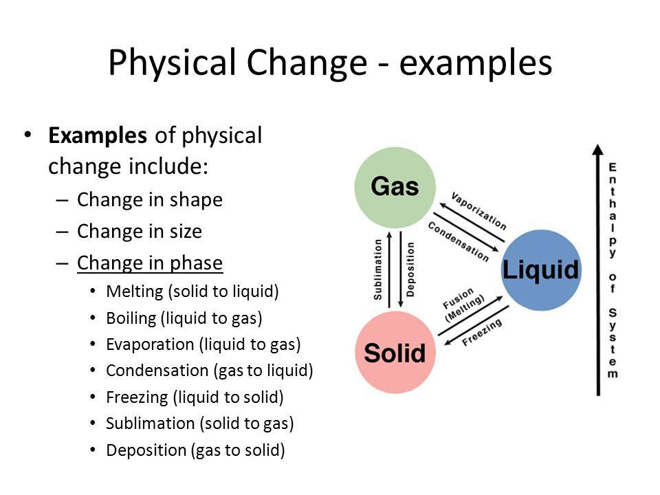 Unit 5 Physical and Chemical Properties and Changes - ppt download