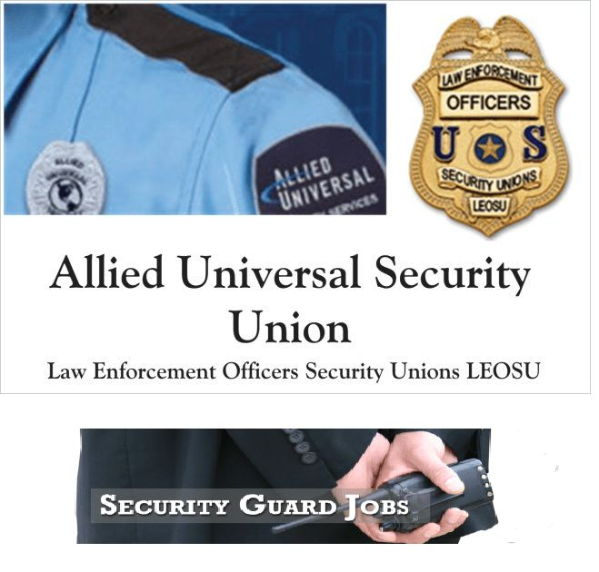 Security Officer Jobs | Unions for Security Guards -Security Guard ...