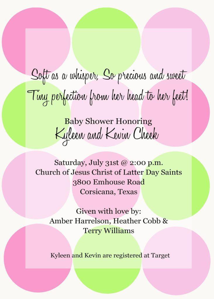 Baby Shower Agenda Template (2) | Best Agenda Templates