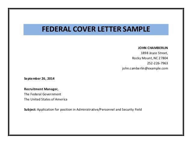 federal government cover letter linux engineer sample resume ...