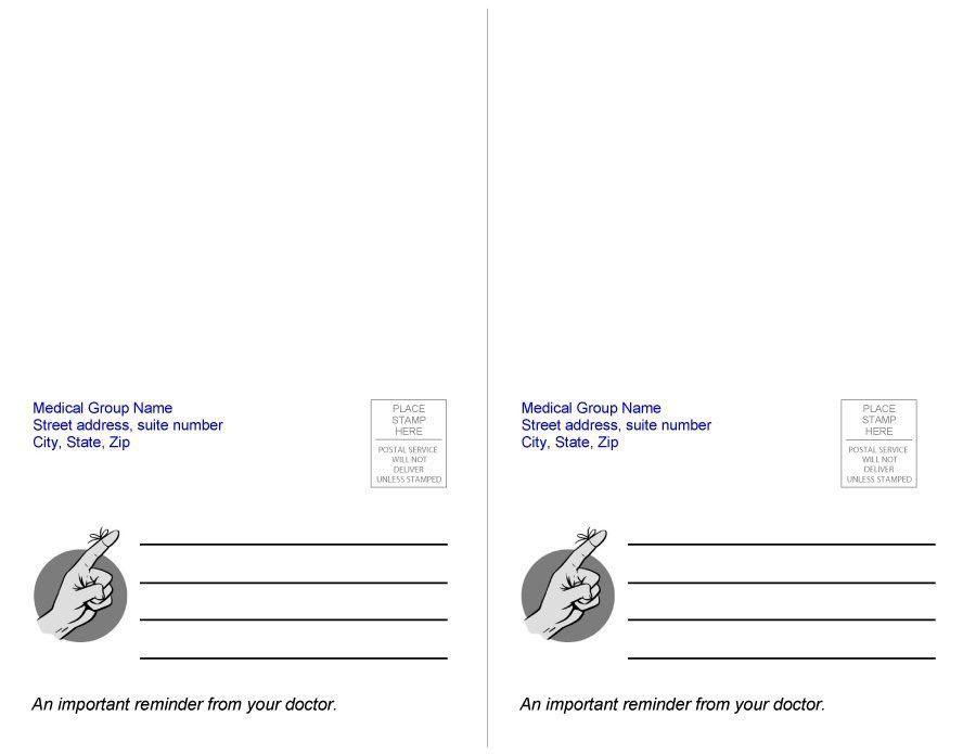 40+ Great Postcard Templates & Designs [Word + PDF] - Template Lab