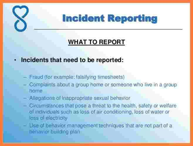 12+ information technology incident report template | Progress Report