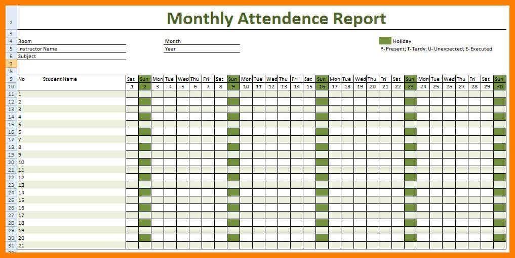 Attendance Sheet. Employee Attendance Calendar 2017,Employee ...